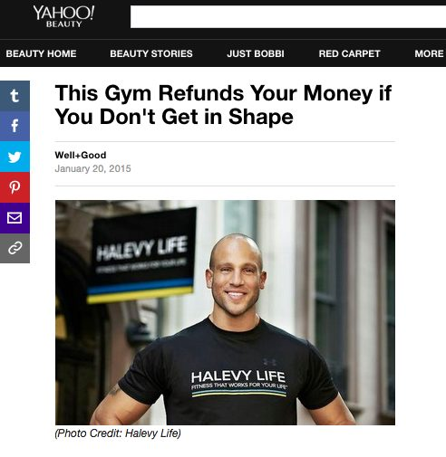 This Gym Refunds Your Money if You Don't Get in Shape